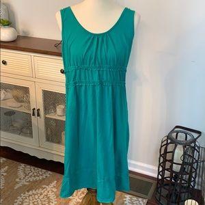 Dresses & Skirts - Organic Cotton Green Summer Dress